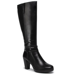 Knee High Boots TAMARIS 1 25538 23 Black 001 1 Jackboots