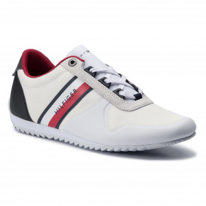 8c243e0c74 Sneakers TOMMY HILFIGER Essential Modern Mesh Runner FM0FM02270 Rwb 020