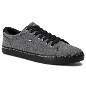 22951e2bc9 Plimsolls TOMMY HILFIGER - Seasonal Textile Sneaker FM0FM02204 White ...