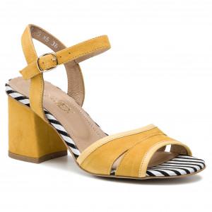 Sandals RIEKER 65863 64 Beige Casual sandals Sandals sj3no