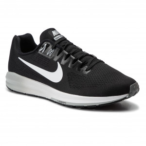 promo code 11e7e 7aba3 Shoes NIKE Air Zoom Structure 21 904695 001 Black White Wolf Grey Cool Grey