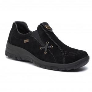 Shoes RIEKER M6014 42 Grey Flats Low shoes Women's YQhF0