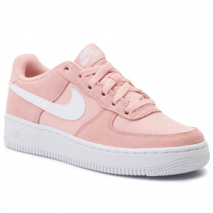 0fc108028eb9 Shoes NIKE - Air Force 1 Pe (Gs) BV0064 600 Coral Stardust/White