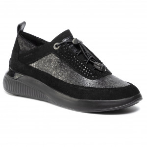 performance sportswear amazing selection reasonable price Sneakers GEOX - D Airell A D942SA 022BC C9999 Black - Sneakers ...