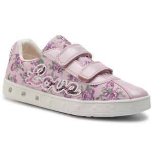 Sneakers GEOX J Skylin G.C J928WC 0ANAJ C0550 DD Pink