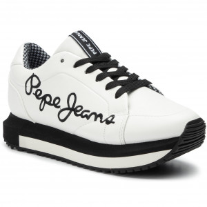 Sneakers PEPE JEANS Zion Smart PLS30907 White 800