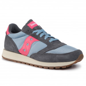 Saucony Sneaker DXN Trainer Vintage White // Purple // LT BLU S60369-25