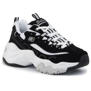 Sneakers SKECHERS Rose Blooms 13084BKW BlackWhite