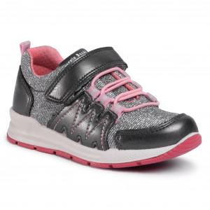 Bartek Girls Leather T-Strap Shoes Closed Toe Sandals 81798//91P Golden Rose Toddler//Little Kid