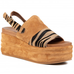 Sandals RIEKER 608B9 45 Grau Casual sandals Sandals