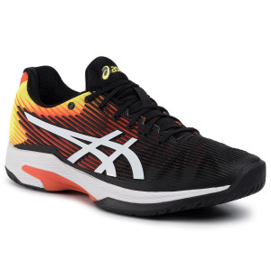 Shoes ASICS Gel Game 7 ClayOc 1041A046 BlackSour Yuzu