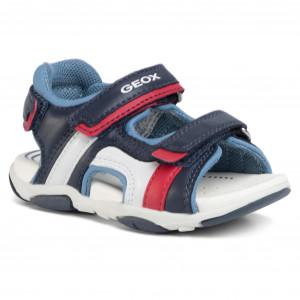 Sandals GEOX B S. Agasi B. C B021AC 08515 C4250 S NavyDk