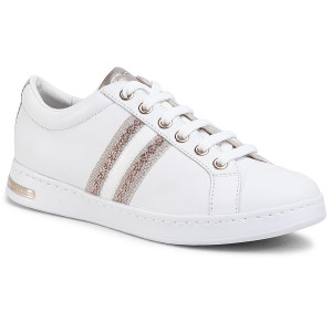 Geox Jaysen Damen Sneakers Turnschuhe Laufschuhe D621ba 85 C1001 Weiß Neu