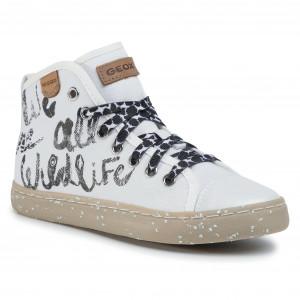 Sneakers GEOX J Kilwi G. F J02D5F 000ZB C1000 M White