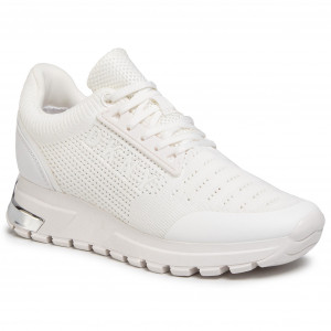Sneakers DKNY Melz K1033411 Knit White Wht Sneakers jiyGr