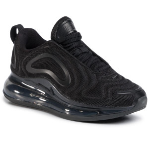 Shoes NIKE Air Max 720 (GS) AQ3196 006 BlackBlackBlack