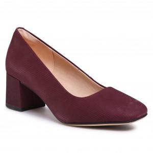 Shoes CLARKS Sheer Rose 261440854 Burgundy Intrest Pumps