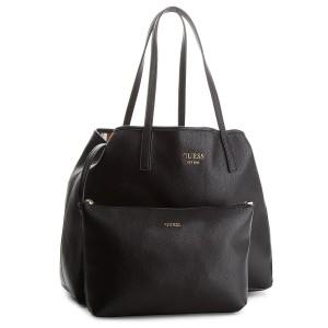 Handbag GUESS HWEV71 80230 BLA Canvas Totes & Shoppers