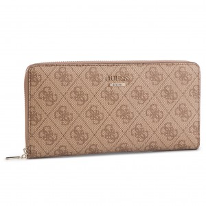 d8a927da5f78f Large Women s Wallet GUESS Downtown Cool (SG) Slg SWSG72 96630 BRO