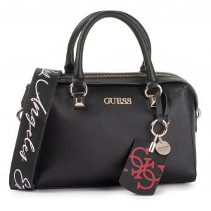 Handbag GUESS Robyn (ED) HWED71 80230 BLA Canvas Totes