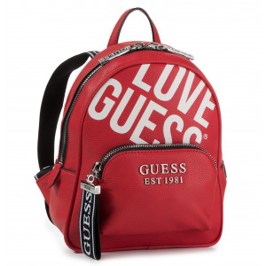 Backpack GUESS Caley (VG) HWVG76 74330 RED Backpacks