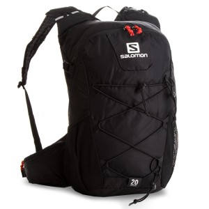 Backpack SALOMON Evasion 20 L40164100 Black Sports bags