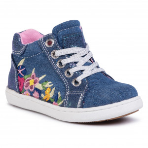 Sneakers TOM TAILOR 2772718 Denim Zip fastened Low