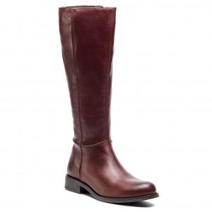 Knee High Boots LASOCKI DESA-10 Dark Red f287c1a2de
