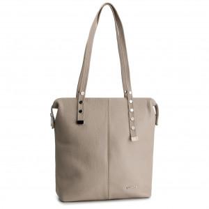 0f1abe620a Handbag LASOCKI VS4240 Beige