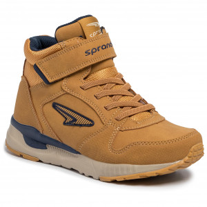 Boots SPRANDI CP40 7332Y Camel Boots High boots and