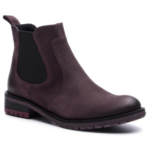 Ankle Boots GINO ROSSI 802A 01 Burgundy Elastic sides