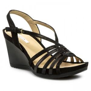 Sandals GEOX D New Roxy E D32P3E 08582 C9999 Black