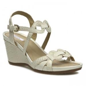 Sandals GEOX D New Roxy A D42P3A 00040 C1627 Milk Casual