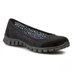 Flats SKECHERS 22625BLK Black Ballerina shoes Low