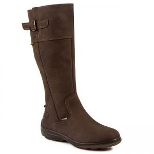 Knee High Boots ECCO Voyage 20453301072 Coffee Jackboots