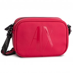 2321c5dcc33 Handbag ARMANI EXCHANGE - 942084 9P111 29774 Red Shoes