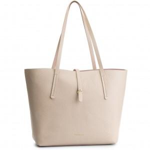2595ae3bc8207 Handbag COCCINELLE - BD5 Arlettis E1 CD5 55 B7 01 Seashell N43 ...