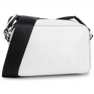90e965cf22 Handbag CALVIN KLEIN - Ck Lock Med Flap Crossbody K60K605060 107 ...