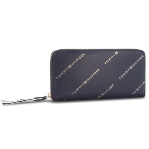 719c64bce334c Large Women s Wallet TOMMY HILFIGER Iconic Tommy Za Wlt AW0AW05759 902