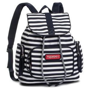 869209c4f9 Backpack TOMMY HILFIGER Varsity Nylon Stripe Backpack AW0AW06239 902