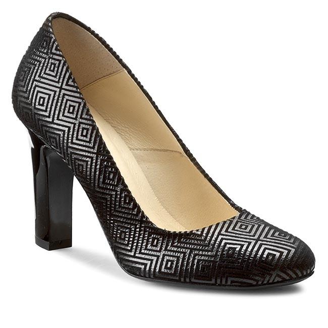 Shoes EDEO shoes - 2156-680 Black - Heels - Low shoes EDEO - Women's shoes ceef5d