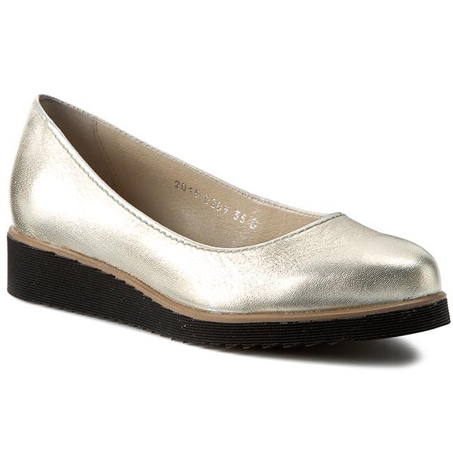 Shoes SIMEN - 0209 Low K.Złoto - Flats - Low 0209 shoes - Women's shoes 380c92