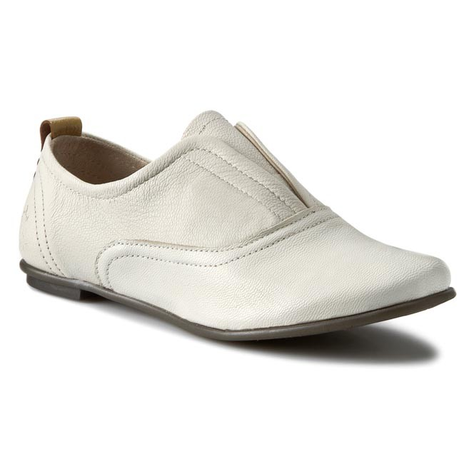 Shoes FLY Off LONDON - Flug P143632005 Off FLY White/Ochre - Flats - Low shoes - Women's shoes c5ec4c
