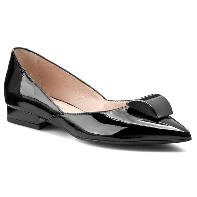 Shoes SOLO FEMME - 46808-01-B48/000-04-00 Black shoes - Flats - Low shoes Black - Women's shoes acda9a
