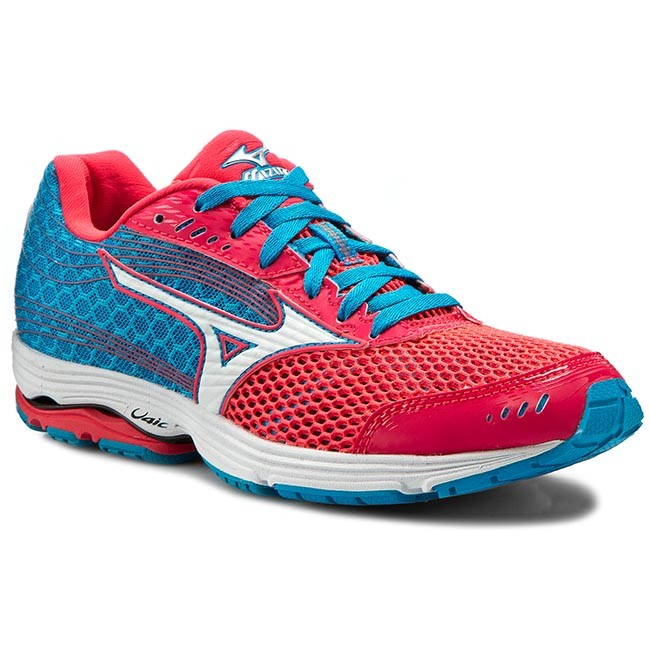 Shoes MIZUNO - Wave Sayonara 3 J1GD153001 Blue Pink shoes - Indoor - Running shoes Pink - Sports shoes - Women's shoes 012fdc