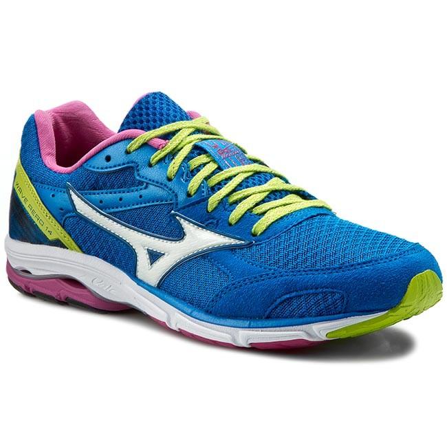 Shoes MIZUNO - Wave Aero 14 J1GD153502  Running Blue - Indoor - Running  shoes - Sports shoes - Women's shoes 0cfb5d