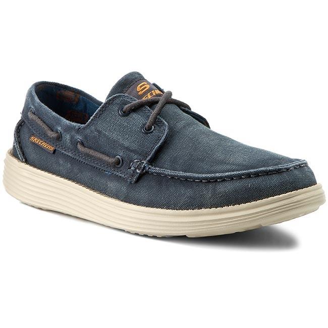 Shoes SKECHERS - Melec 64644/NVY Navy - Casual - - - Low shoes - Men's shoes 673f30