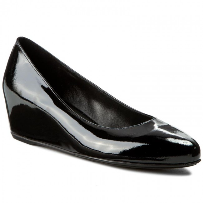Shoes HÖGL - 0-184204 Black 0100 - Wedge-heeled - shoes - Low shoes - Wedge-heeled Women's shoes 3ccf27