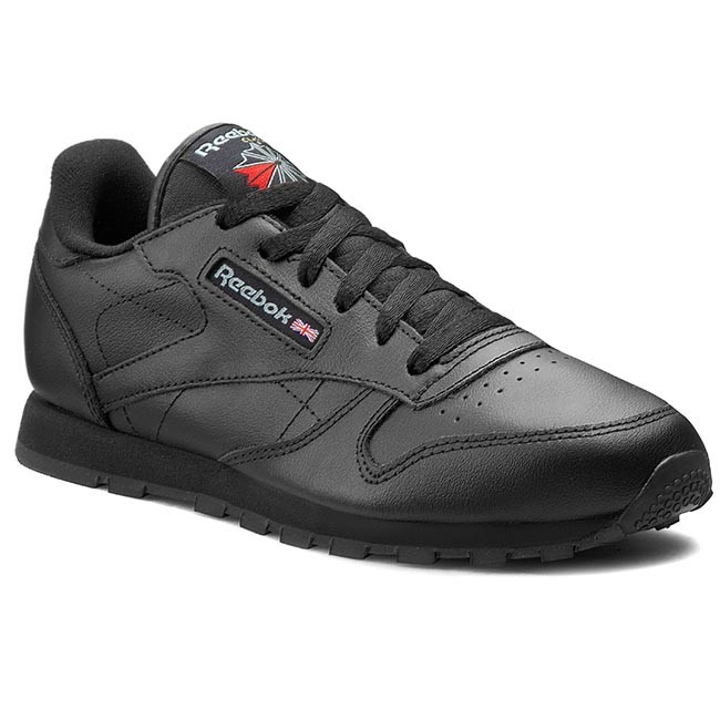Shoes Reebok - Classic Leather 50149  Low Black - Flats - Low  shoes - Women's shoes 23827f