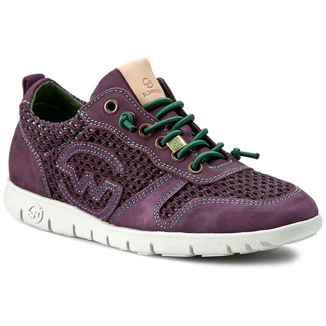 Shoes SLOW WALK - Melb-W 10162W - Crash Purlpe - Flats - 10162W Low shoes - Women's shoes 1a0431